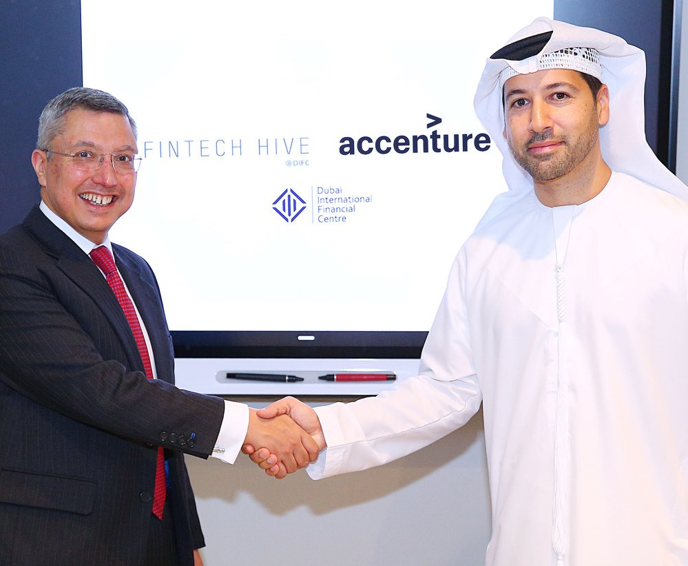 DIFC and Accenture Sign Agreement to Further Cement FinTech Hive at